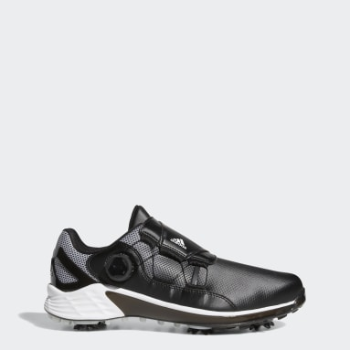 Men Golf Black ZG21 BOA Golf Shoes