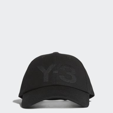 Y-3 Black Y-3 Logo Cap
