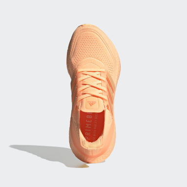 Women's Running Orange Ultraboost 21 Shoes