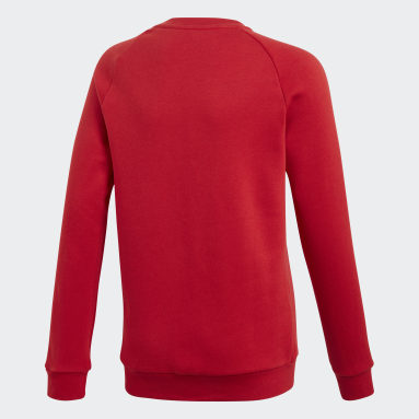 Core 18 Sweatshirt Czerwony