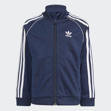 Barn Originals Blå Adicolor SST Track Suit