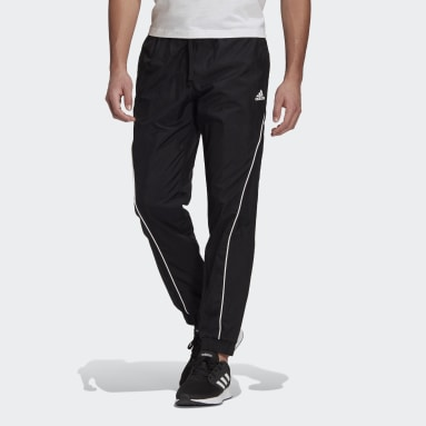 Men's Essentials Black Essentials Woven Logo Pants