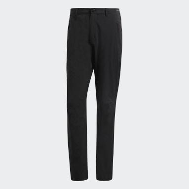 Muži TERREX černá Kalhoty Terrex Liteflex