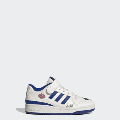 Children Originals White Forum Low Shoes