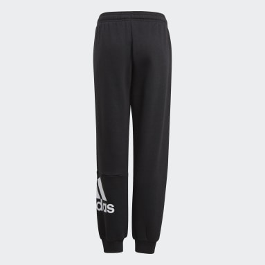 Boys Sport Inspired Black Essentials French Terry Pants