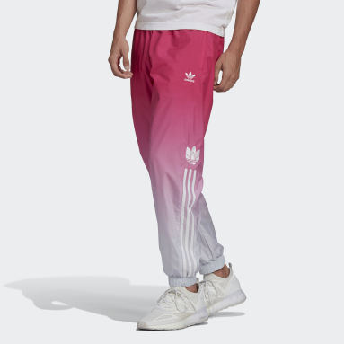 Men Originals Blue Adicolor 3D Trefoil 3-Stripes Ombré Track Pants