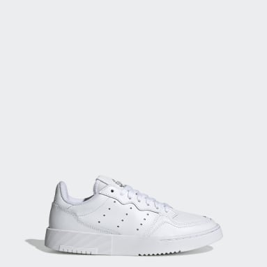 Youth 8-16 Years Originals White Supercourt Shoes