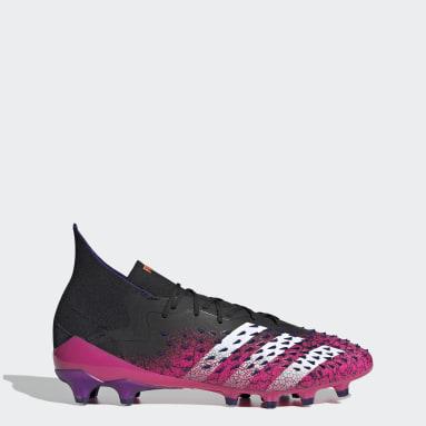 Voetbal zwart Predator Freak.1 Artificial Grass Voetbalschoenen