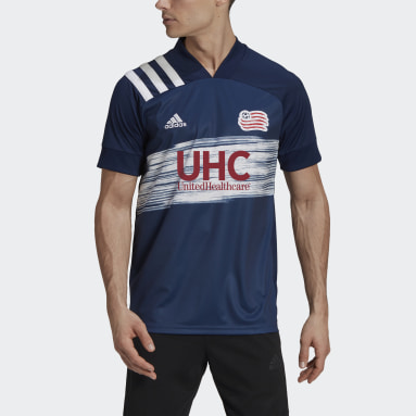 Men's Soccer White New England Revolution 20/21 Home Jersey