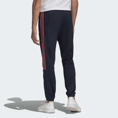 Men Originals Blue SPRT 3-Stripes Track Pants