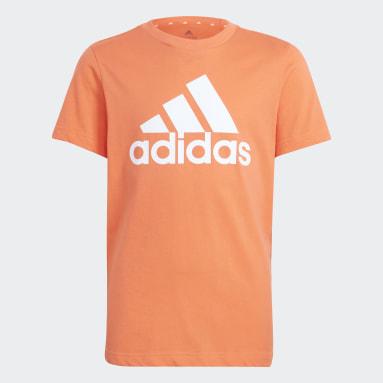 Kluci Sportswear oranžová Tričko Essentials