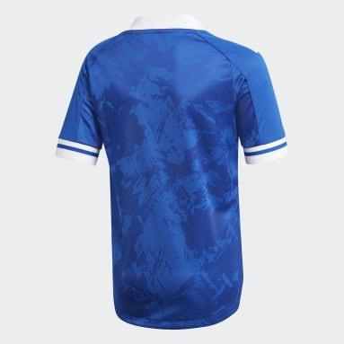 Kids Football Blue Bosnia and Herzegovina 20/21 Home Jersey