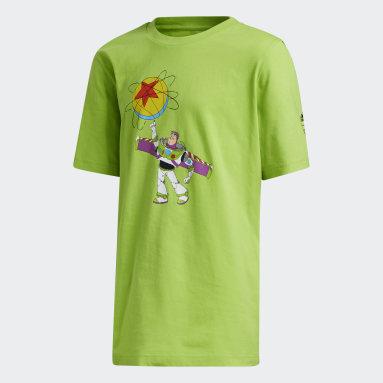 Kids Basketball Green Buzz x Luxo Basketball Toy Story Tee