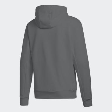 FLEECE HOOD gris Hommes Sportswear