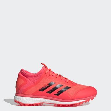Kvinder Udendørshockey Pink Fabela X Empower sko