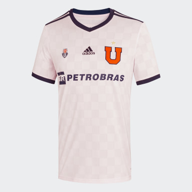 Camiseta Visitante Club Universidad de Chile 20/21 Rosado Hombre Fútbol