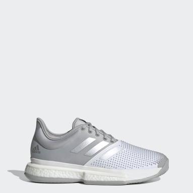 Sapatos de Ténis SoleCourt Cinzento Mulher Originals
