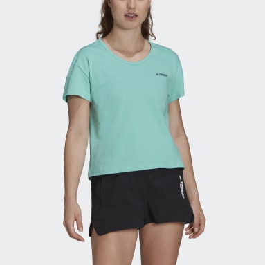 Women TERREX Green Terrex Only Carry T-Shirt