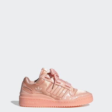 Tenis Forum Satin Low Rosa Niño Originals
