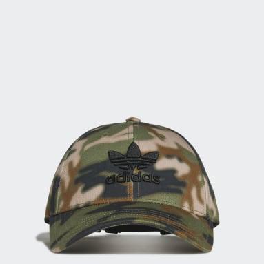 Camo Baseball Caps Beige