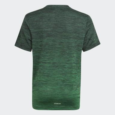 T-shirt AEROREADY Gradient Noir Garçons Fitness Et Training
