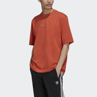 Mænd Originals Orange Rib Detail T-shirt