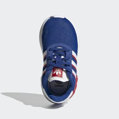 Chaussure LA Trainer Lite Bleu Enfants Originals