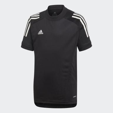 Camiseta entrenamiento Condivo 20 Negro Niño Gimnasio Y Entrenamiento