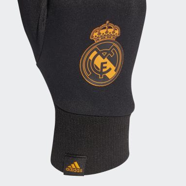 Football Black Real Madrid Field Player AEROREADY Gloves