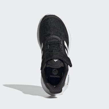 Çocuklar Koşu Siyah EQ21 Koşu Ayakkabısı