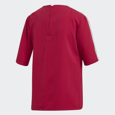 Dames Originals Roze 3-Stripes T-shirt