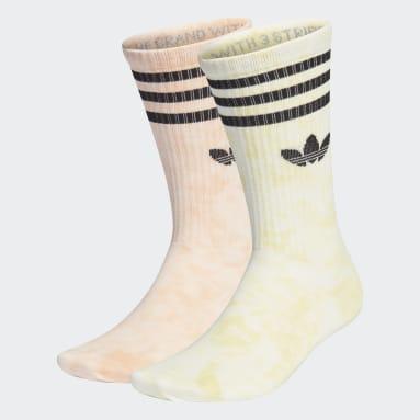 Originals Orange Tie-Dyed Socks 2 Pairs