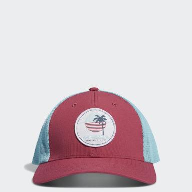 Women Golf Pink Trucker Hat