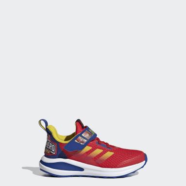 Kinder Running FortaRun Super Hero Schuh Rot