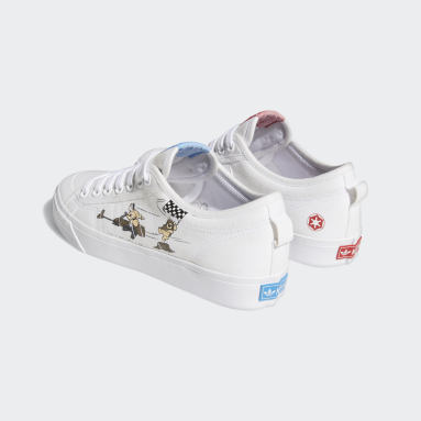 Men Originals White Nizza x Star Wars Shoes