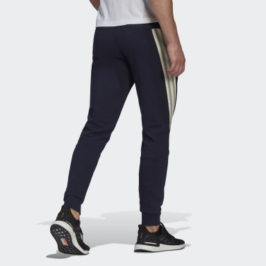 Men Sportswear Blue adidas Sportswear 3-Stripes Tape Pants