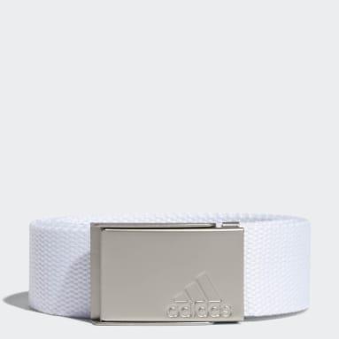Women's Golf White Web Belt