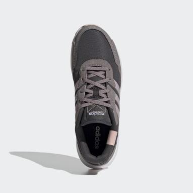 Women's Essentials Grey Retrorun Shoes
