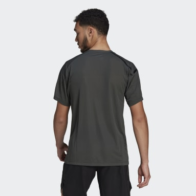 Men City Outdoor Green Agravic Trail All-Around Parley Tee