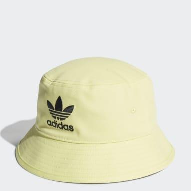 Originals Yellow Adicolor Trefoil Bucket Hat