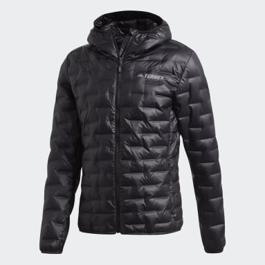 Men TERREX Black Light Down Hooded Jacket