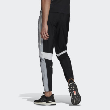 Men Running Black Tracksuit Bottoms