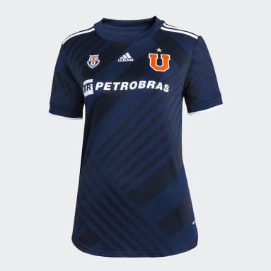 Camiseta Local Club Universidad de Chile 20/21 (UNISEX) Azul Mujer Fútbol