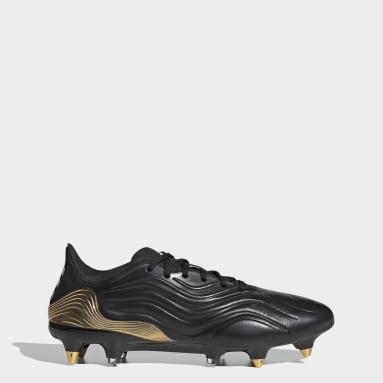 Chaussure Copa Sense.1 Terrain gras Noir Football