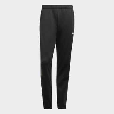 Muži Originals černá Sportovní kalhoty SPRT 3-Stripes