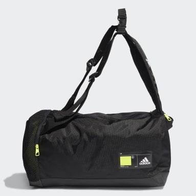 เทรนนิง สีดำ กระเป๋าดัฟเฟิล 4ATHLTS ID ขนาดเล็ก