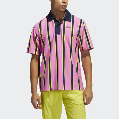 Herr Originals Rosa Stripe Polo Shirt