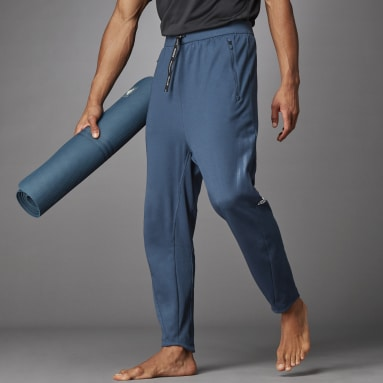 Men's Yoga Blue AEROREADY Flow Primeblue Pants