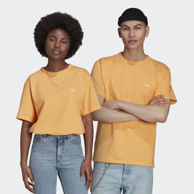 Originals Orange Heavyweight Shmoofoil Shirt (Gender Neutral)