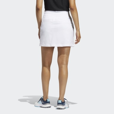 Women Golf White Go-To Commuter Primegreen Skort